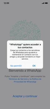 Configuración de Whatsapp - Apple iPhone X - Passo 4