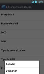 Configura el Internet - LG Optimus L 7 II - Passo 16