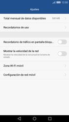 Desactivación límite de datos móviles - Huawei Cam Y6 II - Passo 5
