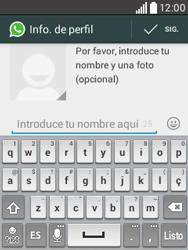 Configuración de Whatsapp - LG L20 - Passo 8