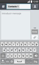 Envía fotos, videos y audio por mensaje de texto - LG L70 - Passo 7