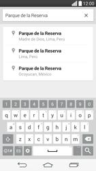 Uso de la navegación GPS - LG G3 Beat - Passo 12