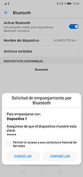Conecta con otro dispositivo Bluetooth - Huawei P20 Lite - Passo 7