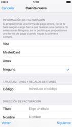 Crea una cuenta - Apple iPhone 6s - Passo 17