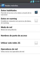 Configura el Internet - LG Optimus G Pro Lite - Passo 7