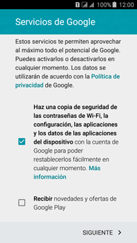 Crea una cuenta - Samsung Galaxy J7 - J700 - Passo 16