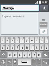 Envía fotos, videos y audio por mensaje de texto - LG L20 - Passo 7