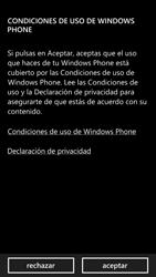 Activa el equipo - Nokia Lumia 1320 - Passo 6