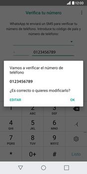 Configuración de Whatsapp - LG G6 - Passo 9
