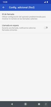 Habilitar llamada en espera - Motorola Moto G8 Play (Single SIM) - Passo 9
