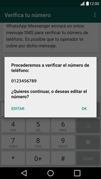 Configuración de Whatsapp - LG G4 - Passo 6