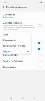 Cómo configurar el modo no molestar - Samsung Galaxy S10 Lite - Passo 18