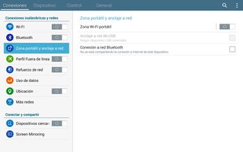 Comparte la conexión de datos con una PC - Samsung Galaxy Note Pro - Passo 5