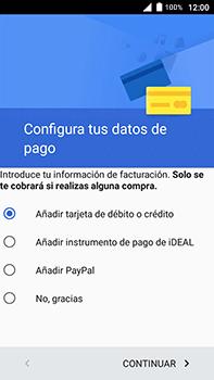 Crea una cuenta - Alcatel POP 4 Plus - 5056 - Passo 17