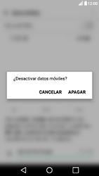 Desactiva tu conexión de datos - LG X Power - Passo 4
