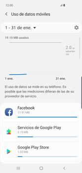 Verificar el uso de datos por apps - Samsung S10+ - Passo 6