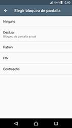 Desbloqueo del equipo por medio del patrón - Sony Xperia XZ Premium - Passo 6