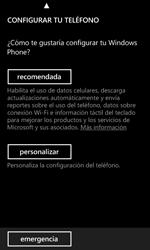 Activa el equipo - Nokia Lumia 520 - Passo 6