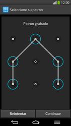 Desbloqueo del equipo por medio del patrón - LG G Flex - Passo 10