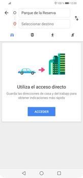 Uso de la navegación GPS - Huawei P30 Lite - Passo 11