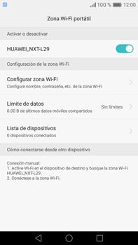 Configura el hotspot móvil - Huawei Mate 8 - Passo 10