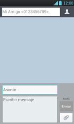 Envía fotos, videos y audio por mensaje de texto - LG Optimus L7 - Passo 10