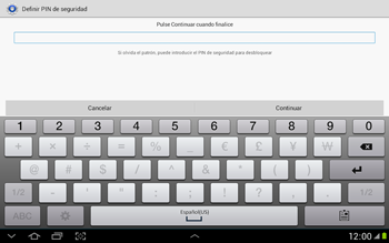 Desbloqueo del equipo por medio del patrón - Samsung Galaxy Note 10-1 - N8000 - Passo 13