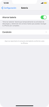 Modo de ahorro de batería - Apple iPhone XS Max - Passo 5
