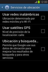 Uso de la navegación GPS - Samsung Galaxy Fame GT - S6810 - Passo 5