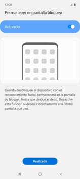 Cómo configurar el Face ID - Samsung Galaxy A51 - Passo 14