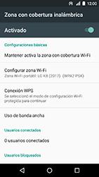 Configura el hotspot móvil - LG K8 (2017) - Passo 11