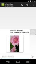 Envía fotos, videos y audio por mensaje de texto - Motorola Moto G - Passo 15