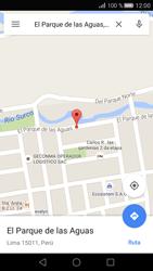 Uso de la navegación GPS - Huawei P8 - Passo 8