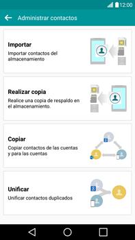 ¿Tu equipo puede copiar contactos a la SIM card? - LG V10 - Passo 6