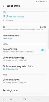 Desactivación límite de datos móviles - Samsung Galaxy Note 8 - Passo 6