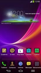 Envía fotos, videos y audio por mensaje de texto - LG G Flex - Passo 1