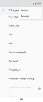 Configura el Internet - Motorola One Vision (Single SIM) - Passo 15