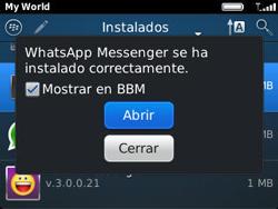Instala las aplicaciones - BlackBerry Curve 9320 - Passo 15