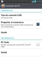 Comparte la conexión de datos con una PC - LG Optimus G Pro Lite - Passo 9