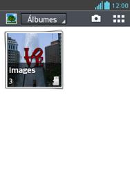Transferir fotos vía Bluetooth - LG Optimus L3 II - Passo 4