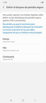 Habilitar seguridad de huella digital - Samsung Galaxy S10 Lite - Passo 6