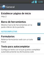 Configura el Internet - LG Optimus L 7 II - Passo 26