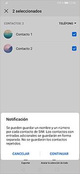 ¿Tu equipo puede copiar contactos a la SIM card? - Huawei P30 Pro - Passo 11
