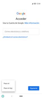 Crea una cuenta - Motorola One Vision (Single SIM) - Passo 5