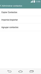 ¿Tu equipo puede copiar contactos a la SIM card? - LG G3 Beat - Passo 6