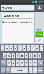 Envía fotos, videos y audio por mensaje de texto - LG Optimus L 7 II - Passo 11