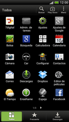 Configura el Internet - HTC One S - Passo 3