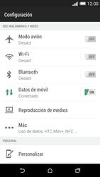 Configura el Internet - HTC One M8 - Passo 5