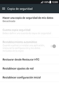 Restaura la configuración de fábrica - HTC U11 - Passo 5