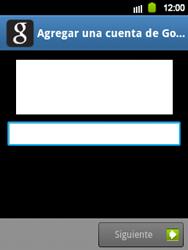 Crea una cuenta - Samsung Galaxy Y  GT - S5360 - Passo 16